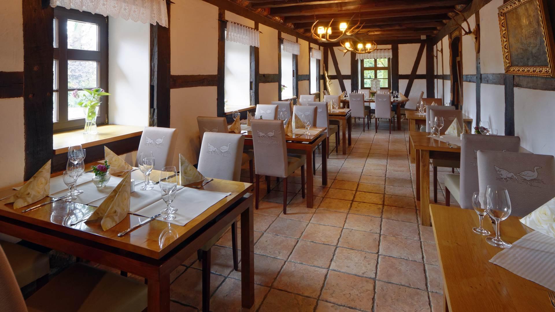 Gastraum Restaurant und Café Hörningshof