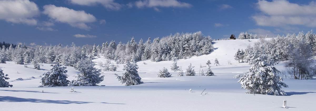 Winterliche Alpenwelt
